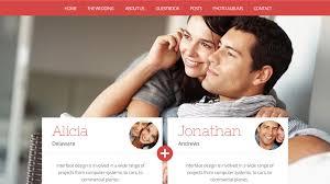 wedding websites ia creative design wedding website design