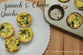 Spinach Quiche With Cottage Cheese by Spinach And Cheese Quiche Smashed Peas U0026 Carrots