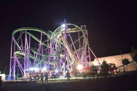Six Flags Pg County Stranded Six Flags Roller Coaster Riders Ranged In Age From 6 To