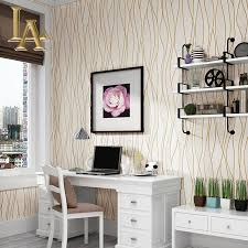 Wallpaper For Bedrooms Compare Prices On Simple Stripes Wallpaper Online Shopping Buy