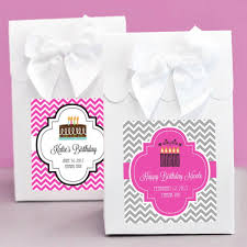 Birthday Favor Boxes by Personalized Birthday Favor Boxes Set Of 12