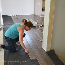 Quick Fix For Squeaky Hardwood Floors by How To Install Laminate Flooring The Best Floors For Families