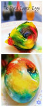 tie dyed easter eggs simple way to color easter eggs easter