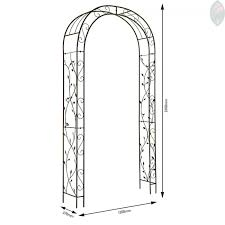 wedding arches perth garden arch nature 2 3m x 1 2m gardman metal wedding arches arbour