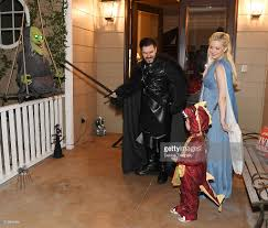 trick or treating with holly madison pasquale rotella and family