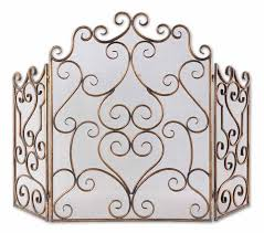 Fireplace Metal Screen by Fireplace Screens And Accessories Totaldecorstore Com