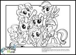 ponycoloring pages pony coloring pages