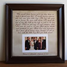 parents gift wedding wedding frame gift to parents groom from framedaeon on etsy