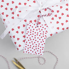 heart wrapping paper heart wrapping paper by the two wagtails notonthehighstreet