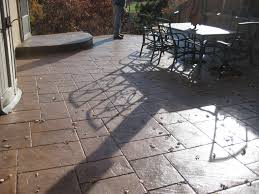 Stamped Patio Designs by Des Plaines Stamped Concrete Des Plaines Stamped Concrete Patios