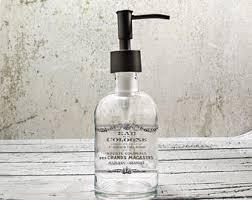 Hand Soap Dispensers Farmhouse Bathroom Decor Glass Soap - Bathroom liquid soap dispenser