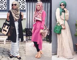 fashion terbaru model baju muslim wanita terbaru pilihan hijabers masa kini