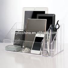 Lucite Desk Accessories Decor Desk Sorter Desk Accessories And Organizers Desk