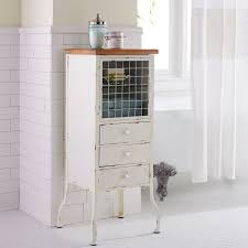 antique white bathroom cabinet pier 1 imports