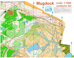 Ord Map Inter Club Relay 2011 August 28th 2011 Orienteering Map From