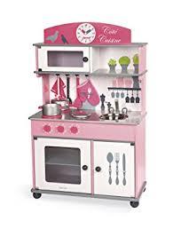 cuisine enfant janod j06565 cuisine enfant coté cuisine bois amazon fr jeux