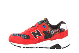Comfortable New Balance Shoes Comfortable New Balance 580 Unisex Shoes Red Black