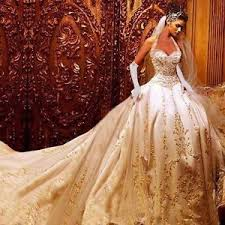 gold wedding dress luxury embroidery gold wedding dresses gown beading bridal