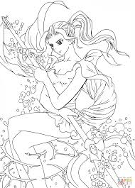 forneus the devil of water from romancing saga 3 coloring page