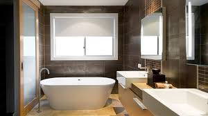 18 sophisticated brown bathroom ideas home design lover - Chocolate Brown Bathroom Ideas