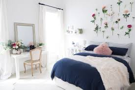 Guest Bedroom Bed - whimsical guest bedroom makeover