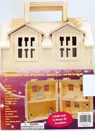amazon com doll house carry u0027n play doll house toys u0026 games