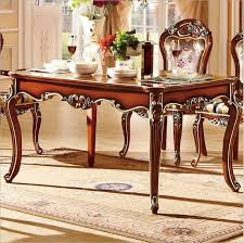 Italian Style Dining Room Furniture by Antique Style Italian Dining Table 100 Solid Wood Italy Style