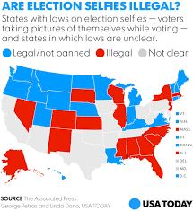 justin timberlake u0027s voting selfie may have broken the law