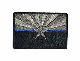 Canadian Flag Patch Subdued Thin Blue Line Arizona State Flag Patch For Law