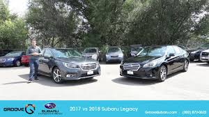subaru legacy 2017 sport 2018 subaru legacy vs 2017 what u0027s the difference youtube