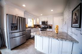 Shaker Style White Kitchen Cabinets Kitchen Kitchen Remodel Lewis Center Ice White Shaker Kitchen