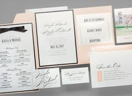 wedding invitation suite friday feature the modern grace wedding invitation suite
