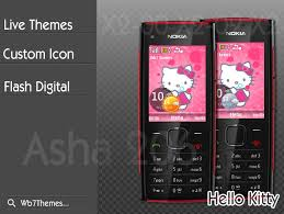 hello kitty themes for xperia c theme hello kitty for nokia x2 00 x2 02 x2 05 6303i classic nokia