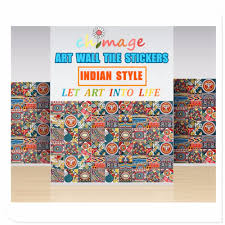 diy home decor indian style aliexpress com buy indian style self adhesive tile art wall
