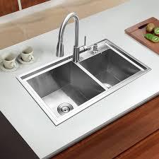 dessin evier cuisine pas cher 780 430 220mm 304 acier inoxydable encastré cuisine évier