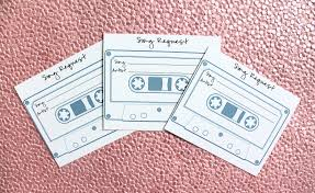 wedding song request cards diy wedding song request cards united with