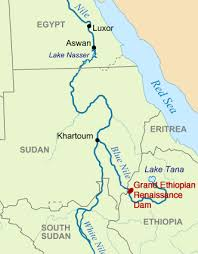 nile river on map revolve water