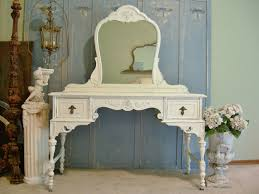 great white shabby chic furniture with modern home interior design