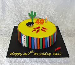mexican chilli 40th birthday cake cakecentral com