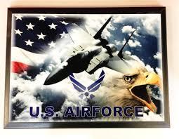 Eagles Flag Military Air Force Custom Creations
