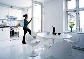 modern kitchen apartment apartements luxury white modern kitchen feature circle white