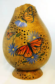 95 best gourds butterfly images on pinterest gourd art