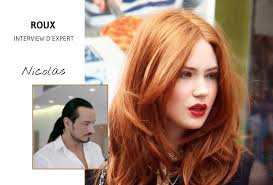 cheveux rouge acajou coloration passer au roux qu u0027il soit vénitien cuivré ou acajou