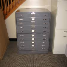 Wood Flat File Cabinet Lot 50 Fosters Flat File Cabinet 11 Drawer 25 5 X 37