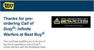 call of duty infinite warfare black friday amazon how to sign up for the call of duty infinite warfare beta