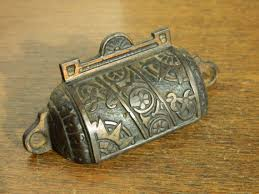 eastlake pulls apothecary pull antique drawer pulls cast iron