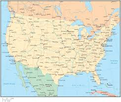 us map by states and cities us map with states and cities map of usa and canada with states