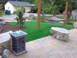 Artificial Grass Backyard by Artificial Grass Leona Valley California Landscaping Business
