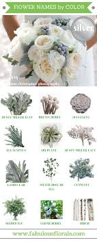 wedding flowers names silver grey flower accents http howtodiyweddingflowers