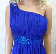 cheap royal blue bridesmaid dresses blue bridesmaid dress blue one shoulder dress